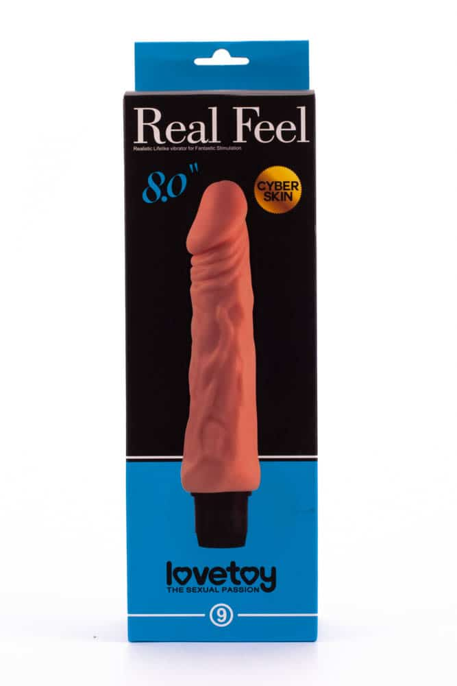 SF. вибратор - Reel Feel Vibrator Flesh 8,0